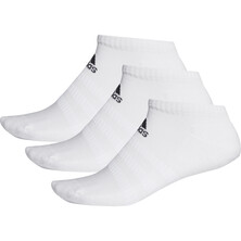 Adidas Cushioned Low Cut Socks 3 Pack White