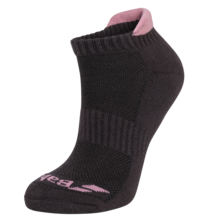 Babolat Invisible 2 Pack Women Socks Black Pink