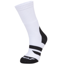 Babolat Team Big Logo White Black Socks