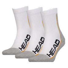 Head Performance Tennis Sock 3 Pack White