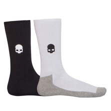 Hydrogen Crew Socks White Black