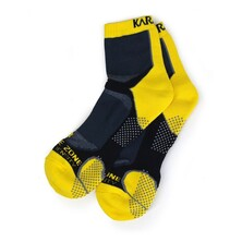 Karakal X4 Ankle Sock Black Yellow