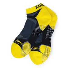 Karakal X4 Trainer Sock Black Yellow