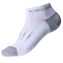 K-Swiss Women's Low Cut Socks 3 Pack