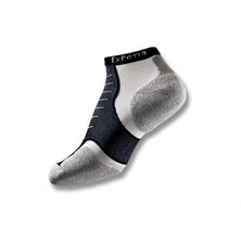 Thorlo Experia CoolMax Micro Mini Socks - Black