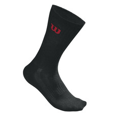Wilson Crew Socks 3 Pack Black