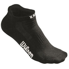 Wilson Women's No Show Sock 3 Pack Black