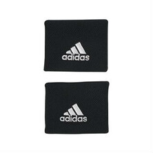 Adidas Wristbands Two Pack Black