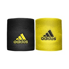 Adidas Wristband Small Black Yellow