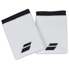 Babolat Logo Jumbo Wristband 2 Pack White Rabbit