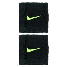 Nike Dry Fit Reveal Wristbands Black Volt