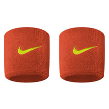 Nike Swoosh Wristbands - Team Orange/Volt