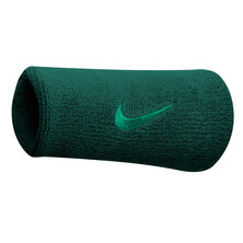 Nike Swoosh Doublewide Wristbands - Midnight Turquoise
