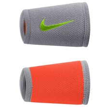 Nike Dri Fit Stealth Doublewide Wristbands Cool Grey