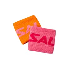 Salming Wristbands 2 Pack Short Orange Pink 2020