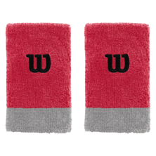 Wilson Extra Wide W Wristband Pack Of Two Infared