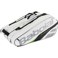 Babolat Pure Wimbledon Racket Holder X12 Racketbag White Green