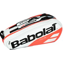 Babolat Pure Strike X6 Racketbag White Red