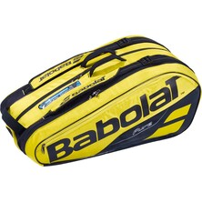 Babolat Pure Aero 9 Racket Bag - Yellow/Black