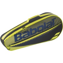 Babolat Racket Holder Essential Club 3 Racket Black Yellow