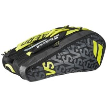 Babolat Pure Aero VS 9 Racket Bag - Black/Yellow