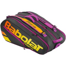 Babolat Pure Aero Rafa 12 Racket Bag - Black Orange Purple