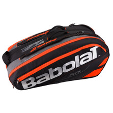 Babolat Pure Racket Holder X12 Racketbag Black Fluo Red