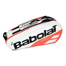 Babolat Pure Racket Holder X6 Racketbag White Red
