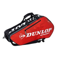 Dunlop Tour 6 Racket Thermo Bag Black Red