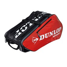 Dunlop Tour 10 Racket Thermo Bag Black Red