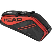 Head Tour Team Pro 3R Racket Bag - Black Red