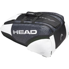 Head Djokovic 12R Monstercombi Bag Black White