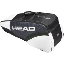 Head Djokovic 6R Combi Racket Bag Black White