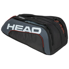 Head Tour Team 12R Monstercombi Racket Bag Black Grey