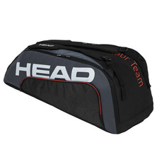 Head Tour Team 9R Supercombi Racket Bag Black Grey
