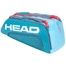 Head Tour Team 9R Supercombi Racket Bag Blue Pink