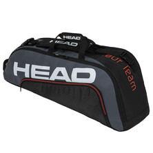 Head Tour Team 6R Combi Racket Bag Black Grey