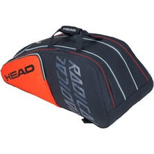 Head Radical Monstercombi 12 Racket Bag Orange Grey