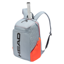 Head Rebel Backpack Light Grey Orange 2021