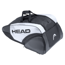 Head Djokovic 9R Supercombi Racket Bag 2021 White Black