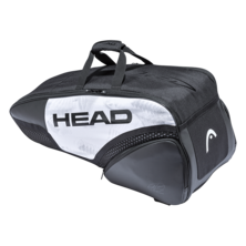 Head Djokovic 6R Combi Racket Bag 2021 White Black