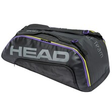 Head Tour Team 9R Supercombi Racket Bag 2021 Black Purple
