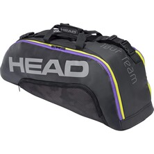 Head Tour Team 6R Combi Racket Bag 2021 Black Purple