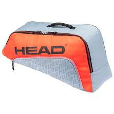 Head Junior Combi Rebel Racket Bag 2021 Light Grey Orange
