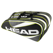 Head Elite Monstercombi 12 Racket Bag Black Anthracite