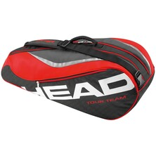 Head Tour Team 6 Racket Combi Bag Black Red
