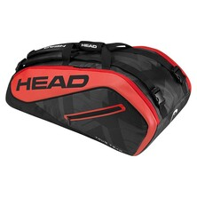 Head Tour Team 9 Racket Supercombi Black Red