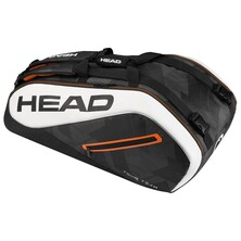 Head Tour Team 9 Racket Supercombi Black White