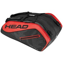 Head Tour Team 12 Racket Monstercombi Black Red