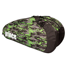 Prince Team 6 Pack Racket Bag Black Green